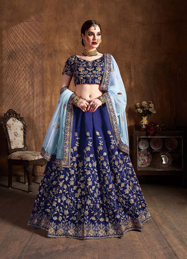 BEAUTIFUL INDIAN LEHENGA CHOLI - BT-LH-10131 - $99.99