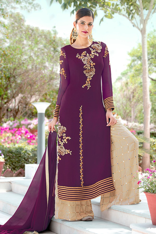DESIGNER INDIAN SALWAR KAMEEZ - BT-SK-R-30122 - $79.99