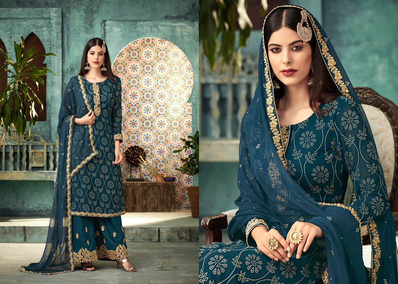 DESIGNER INDIAN SALWAR KAMEEZ - BT-SK-R-30143 - $79.99