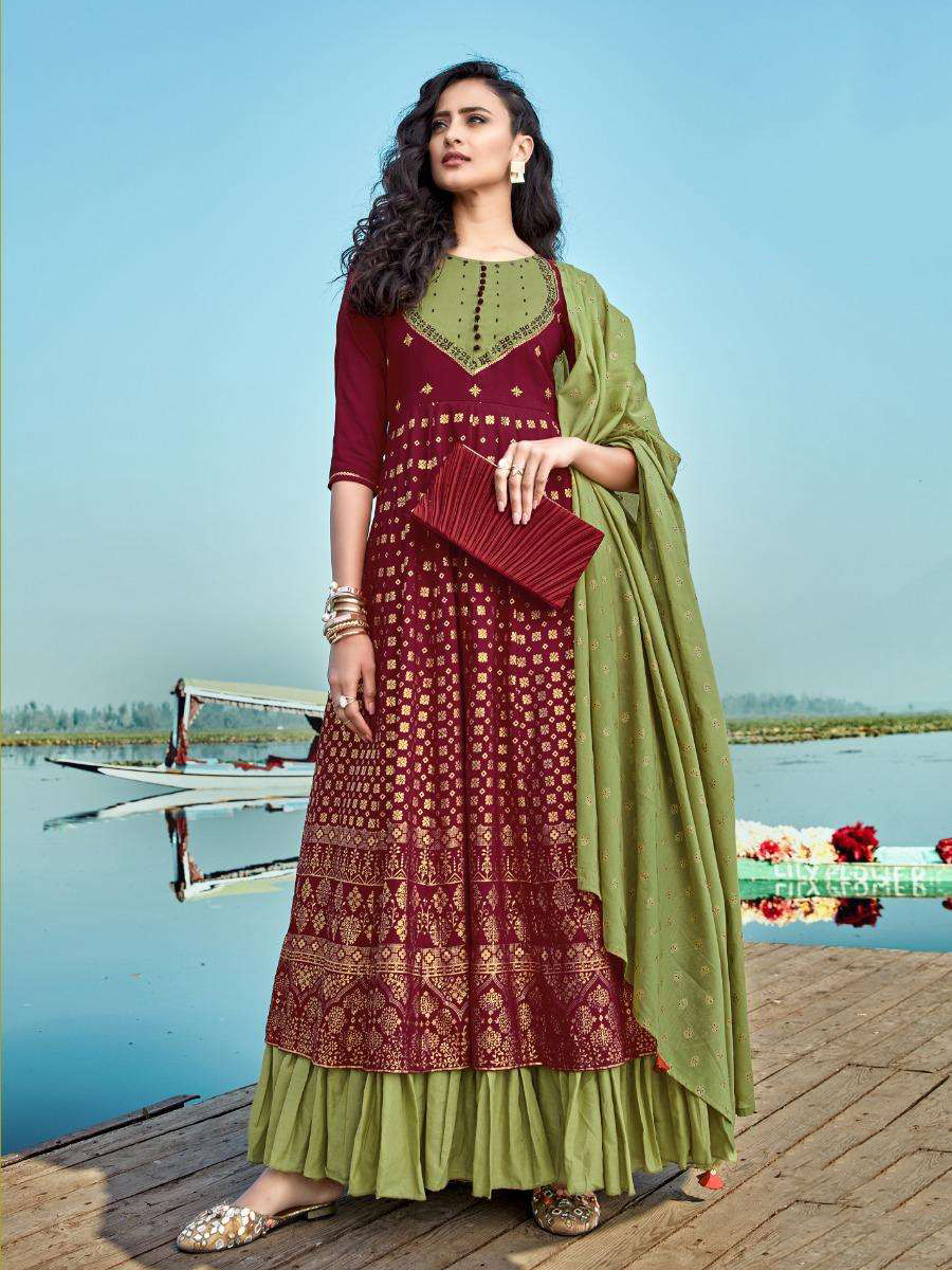 DESIGNER INDIAN SALWAR KAMEEZ - BT-SK-R-30422 - $59.99