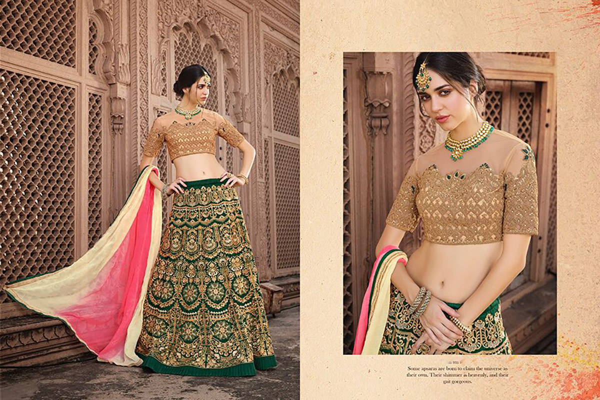 BEAUTIFUL INDIAN LEHENGA CHOLI - BT-LH4123 - $164.99