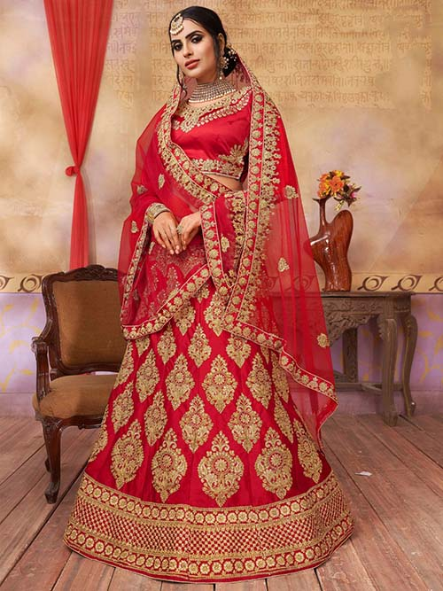BEAUTIFUL INDIAN LEHENGA CHOLI - BT-LH-10013