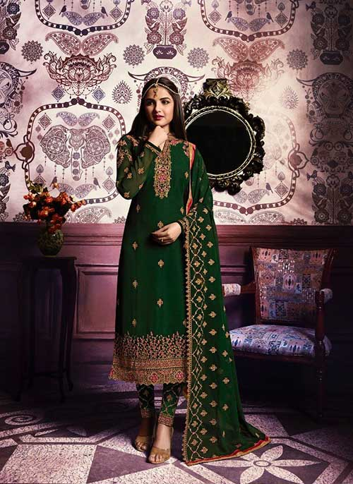 DESIGNER INDIAN SALWAR KAMEEZ - BT-SK-3962