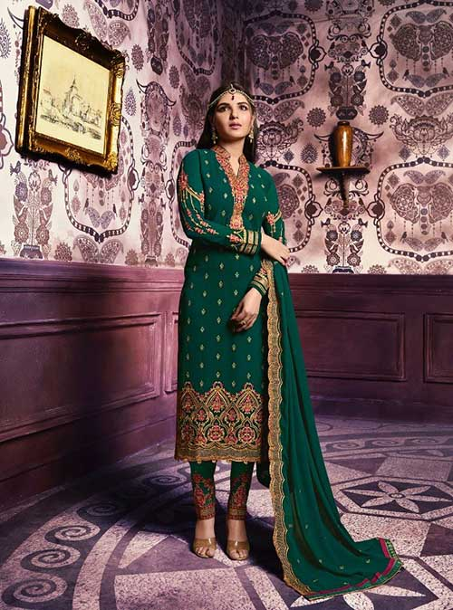 DESIGNER INDIAN SALWAR KAMEEZ - BT-SK-3968