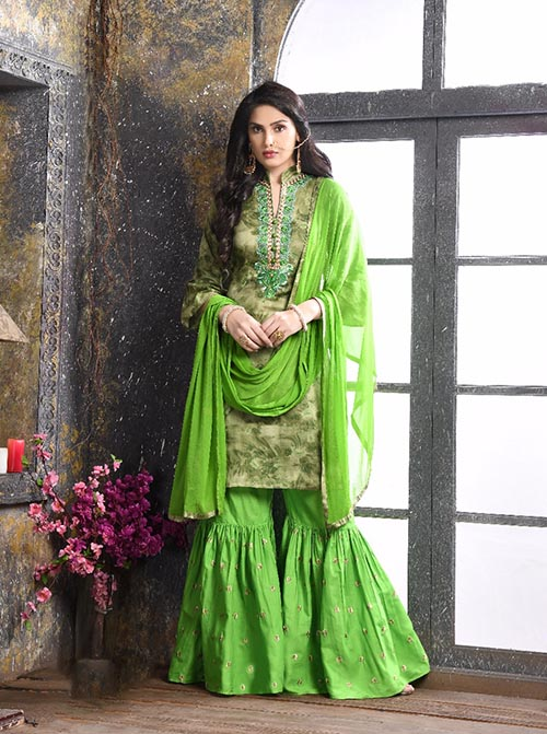 DESIGNER INDIAN SALWAR KAMEEZ - BT-SK-R-3840
