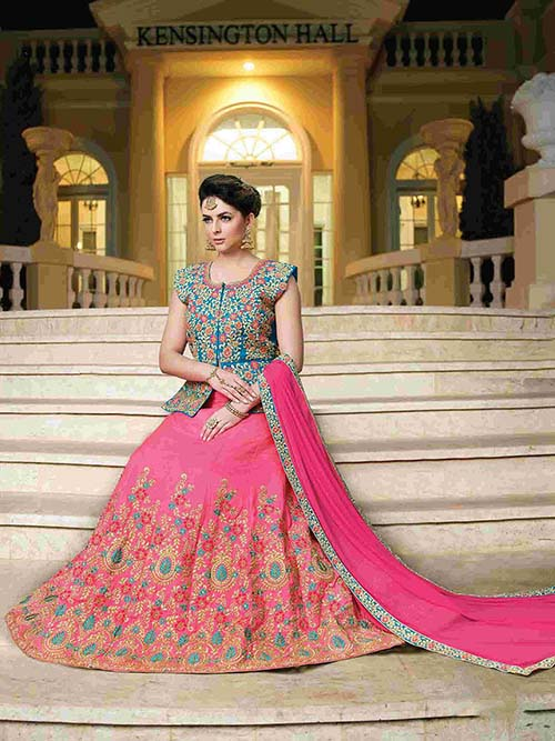 BEAUTIFUL INDIAN LEHENGA CHOLI - BT-LH4131