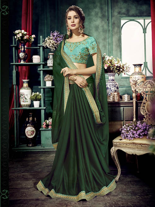 PREMIUM CHIFFON INDIAN SAREE - BT-SR5418