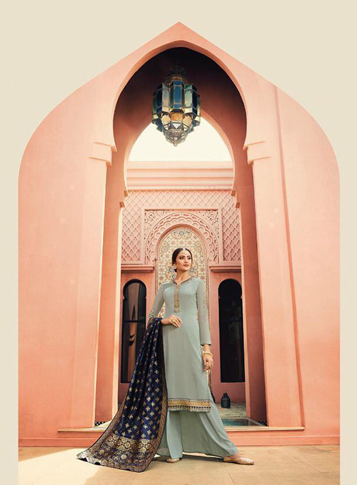 DESIGNER INDIAN SALWAR KAMEEZ - BT-SK-3975