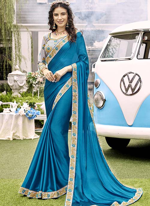 PREMIUM CHIFFON INDIAN SAREE - BT-SR5552