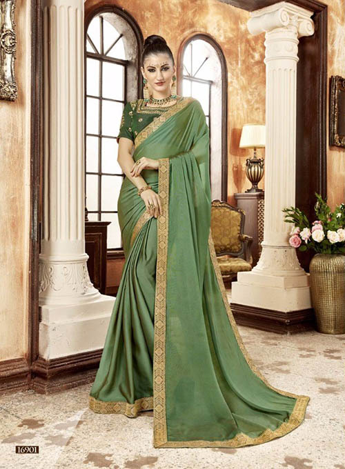PREMIUM CHIFFON INDIAN SAREE - BT-SR5531