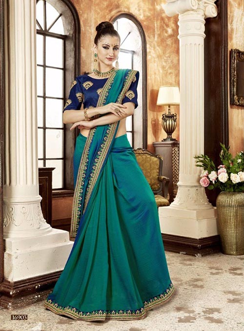 PREMIUM CHIFFON INDIAN SAREE - BT-SR5533