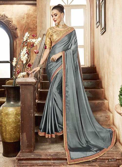 PREMIUM CHIFFON INDIAN SAREE - BT-SR5537