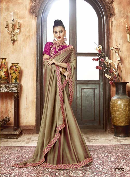 PREMIUM CHIFFON INDIAN SAREE - BT-SR5539