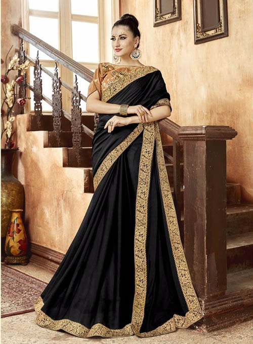 PREMIUM CHIFFON INDIAN SAREE - BT-SR5540