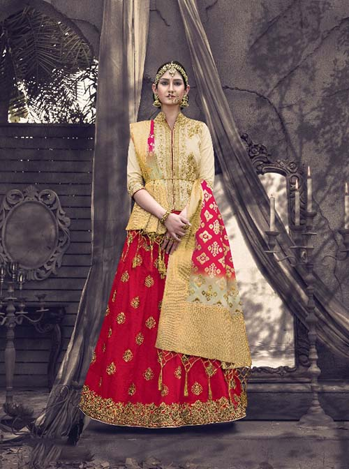 BEAUTIFUL INDIAN LEHENGA CHOLI - BT-LH-4223