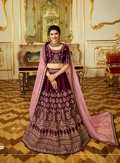 BEAUTIFUL INDIAN LEHENGA CHOLI - BT-LH-4206