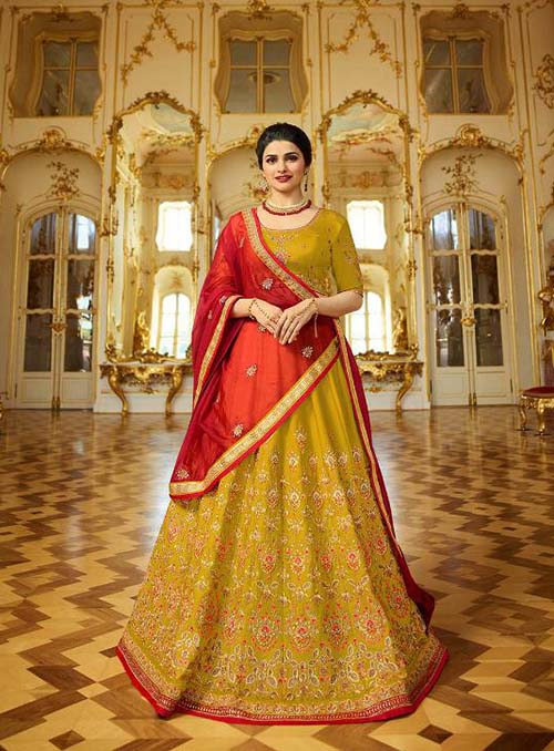 BEAUTIFUL INDIAN LEHENGA CHOLI - BT-LH-4207