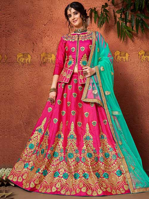 BEAUTIFUL INDIAN LEHENGA CHOLI - BT-LH-4231