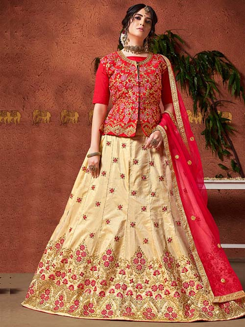 BEAUTIFUL INDIAN LEHENGA CHOLI - BT-LH-4232