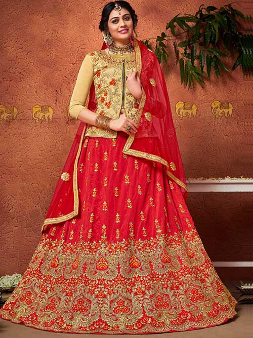 BEAUTIFUL INDIAN LEHENGA CHOLI - BT-LH-4234