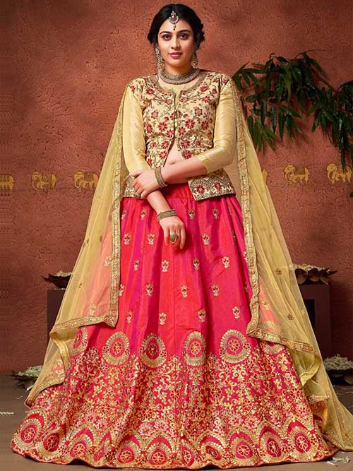 BEAUTIFUL INDIAN LEHENGA CHOLI - BT-LH-4236