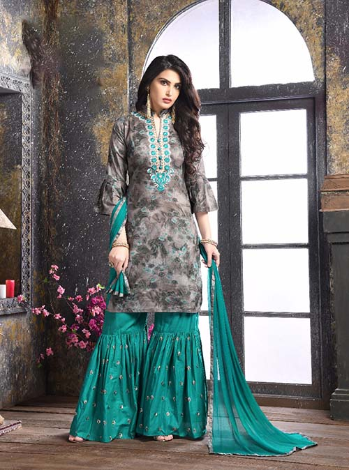 DESIGNER INDIAN SALWAR KAMEEZ - BT-SK-R-3839