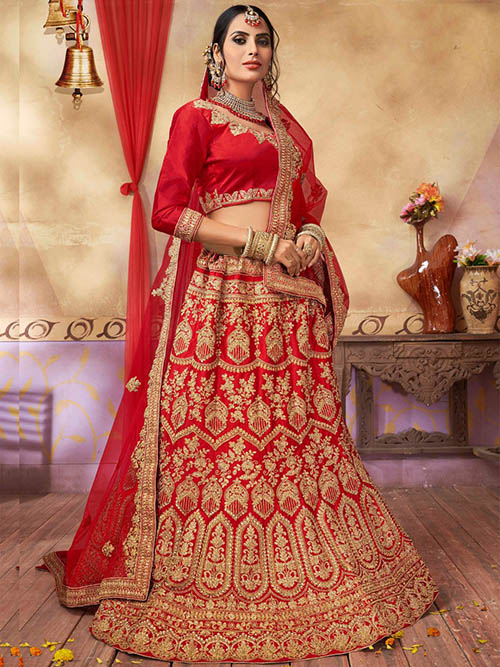BEAUTIFUL INDIAN LEHENGA CHOLI - BT-LH-10016