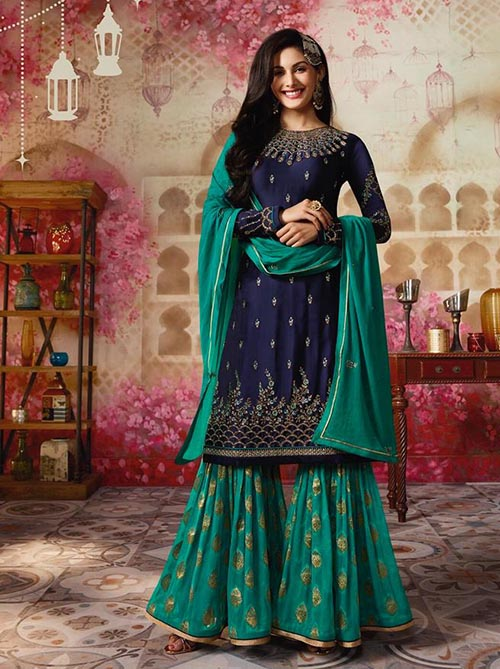 DESIGNER INDIAN SALWAR KAMEEZ - BT-SK-3851