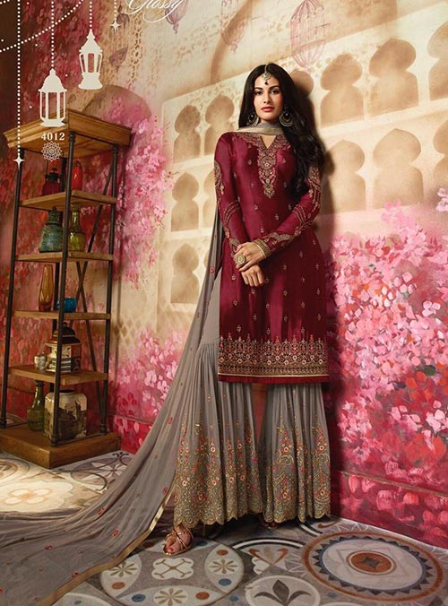 DESIGNER INDIAN SALWAR KAMEEZ - BT-SK-3852