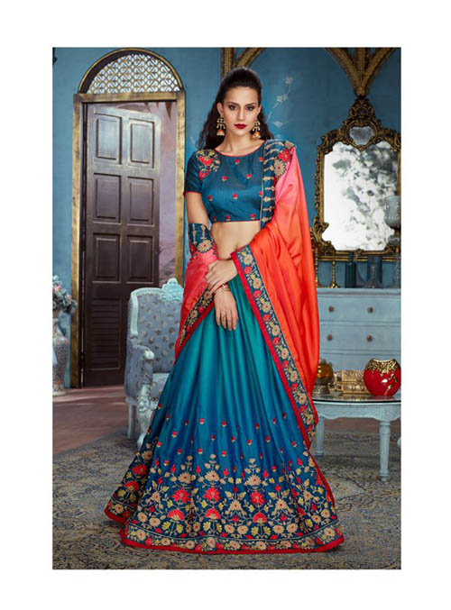 PARTY WEAR INDIAN SILK SAREE - BT-SR5424
