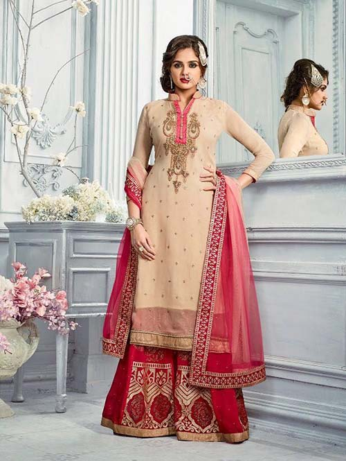 DESIGNER INDIAN SALWAR KAMEEZ - BT-SK3583