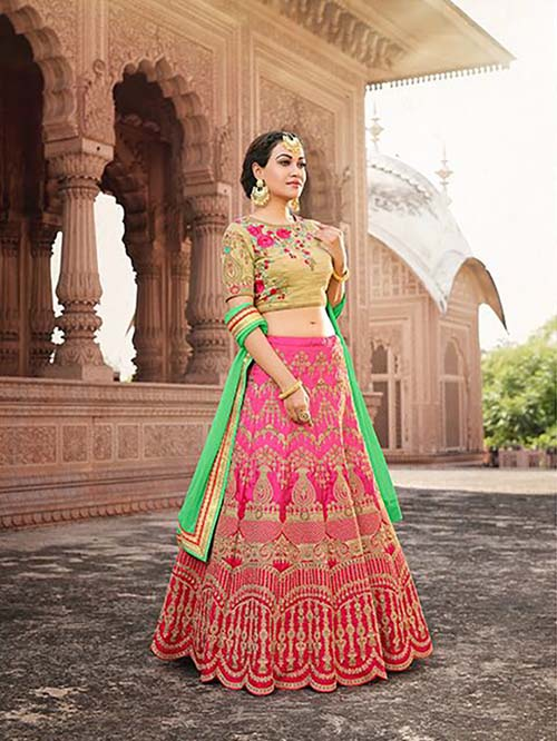 BEAUTIFUL INDIAN LEHENGA CHOLI - BT-LH4124