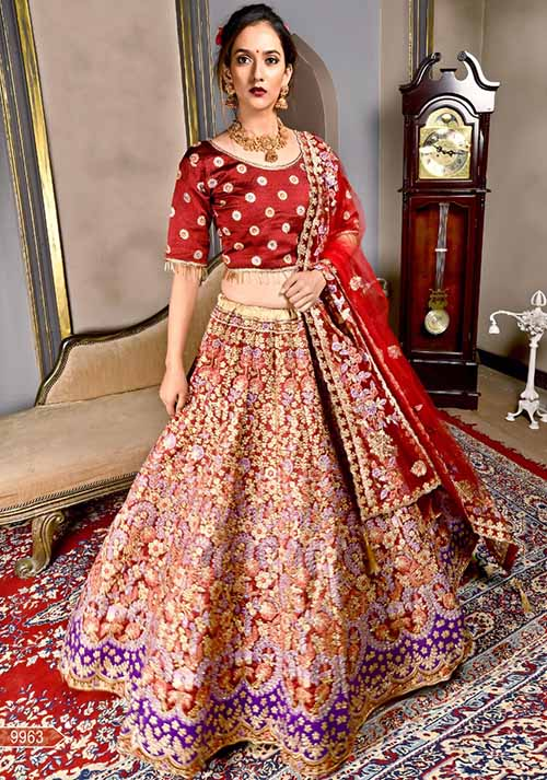 BEAUTIFUL INDIAN LEHENGA CHOLI - BT-LH-10043
