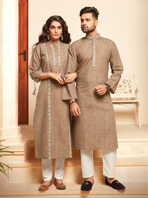 DESIGNER INDIAN KURTA PAJAMA-BT-KP-600032-M