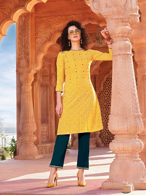 DESIGNER INDIAN KURTI - BT-K-R-90008-M