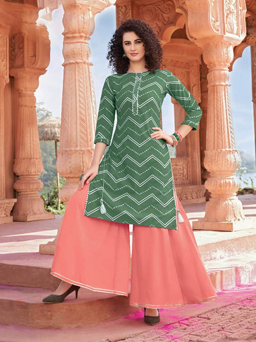 DESIGNER INDIAN KURTI - BT-K-R-90009-M