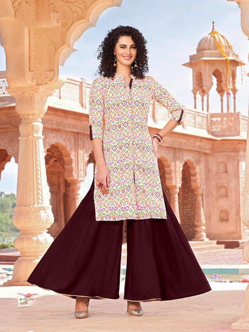DESIGNER INDIAN KURTI - BT-K-R-90011-M