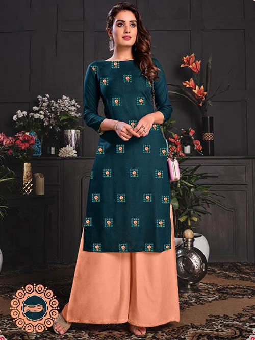 DESIGNER INDIAN KURTI - BT-K-R-90033-M