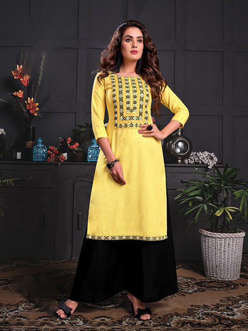 DESIGNER INDIAN KURTI - BT-K-R-90035-M