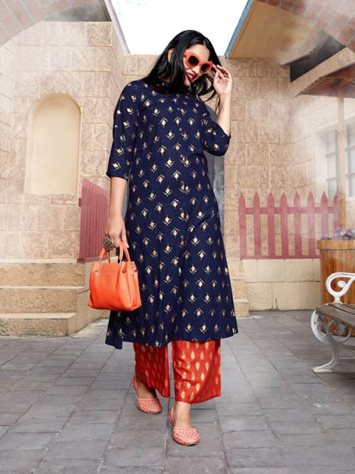DESIGNER INDIAN KURTI - BT-K-R-90041-XXL