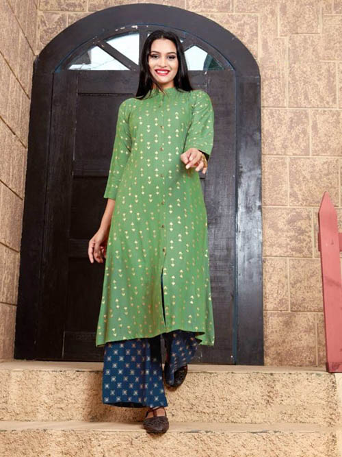 DESIGNER INDIAN KURTI - BT-K-R-90042-XXL