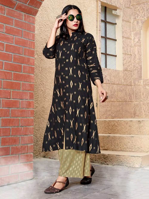 DESIGNER INDIAN KURTI - BT-K-R-90045-XXL