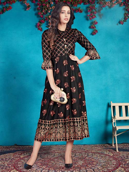 DESIGNER INDIAN KURTI - BT-K-R-90052-M