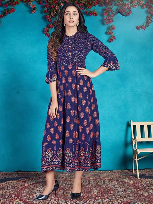 DESIGNER INDIAN KURTI - BT-K-R-90054-M