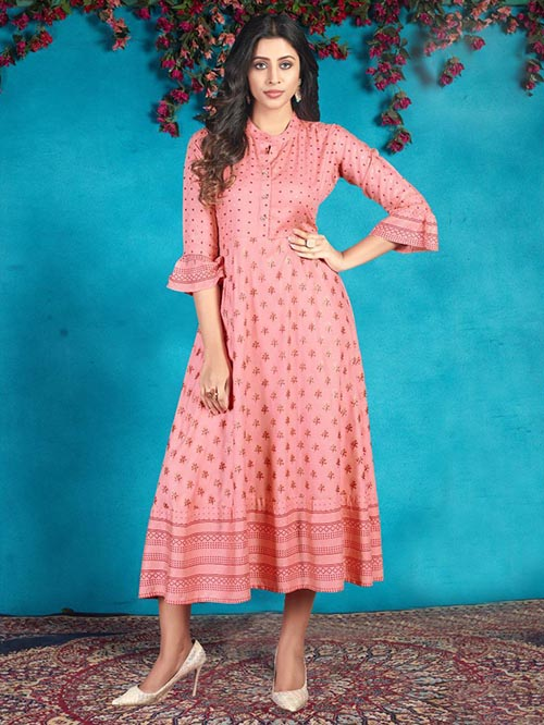 DESIGNER INDIAN KURTI - BT-K-R-90055-M