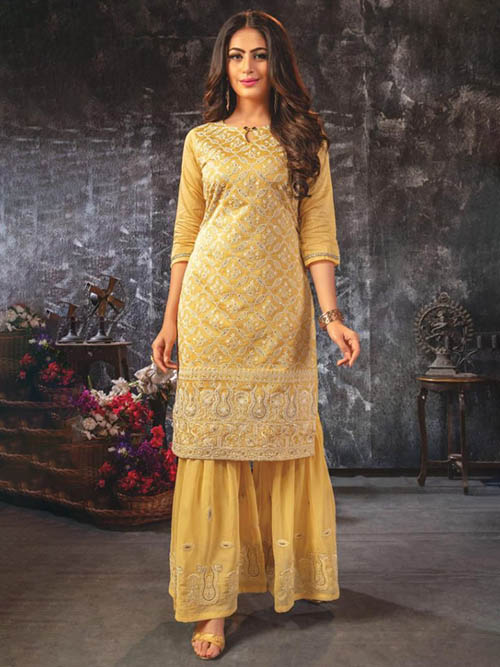 DESIGNER INDIAN KURTI - BT-K-R-90061-L