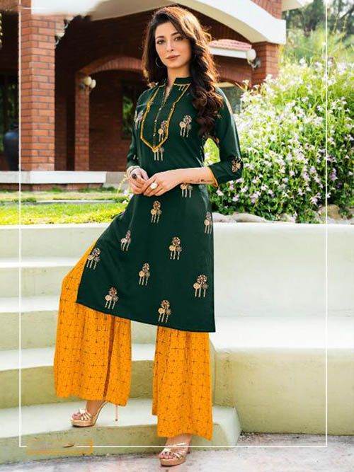 DESIGNER INDIAN KURTI - BT-K-R-90083-M