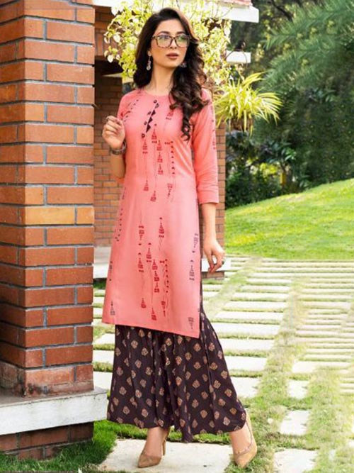DESIGNER INDIAN KURTI - BT-K-R-90085-M