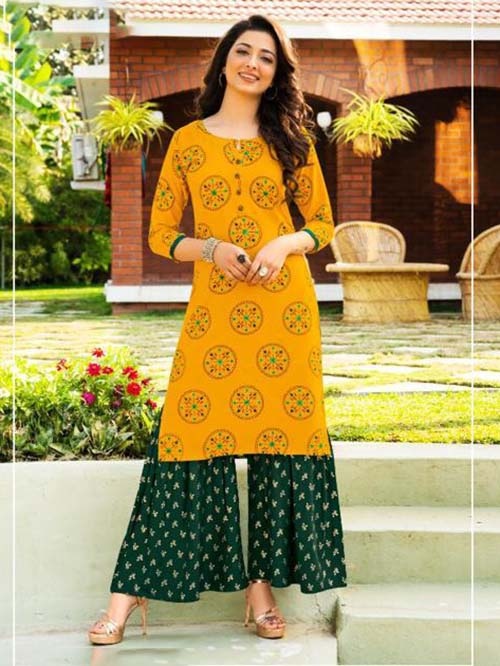 DESIGNER INDIAN KURTI - BT-K-R-90086-M
