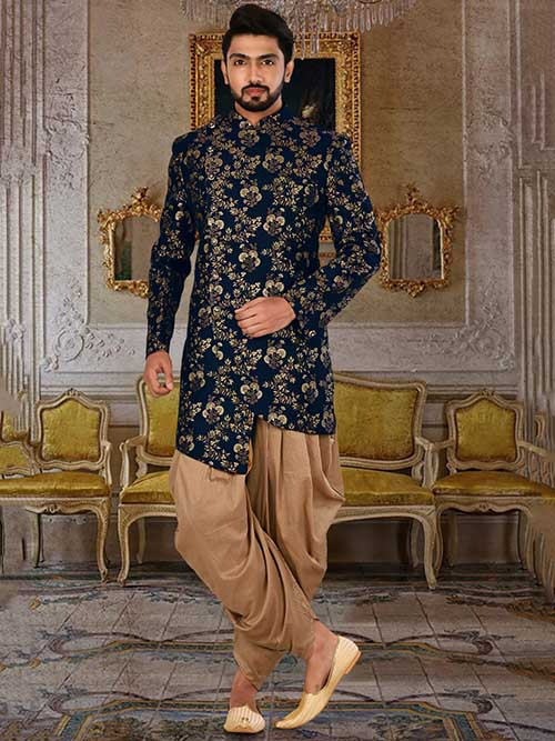 DESIGNER INDIAN SHERWANI-600020-XL